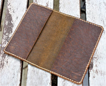 Handmade Leather Case Cover Simple Field Notes Moleskine Bison Folklore