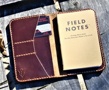 Handmade Cover for Field Notes Card Wallet SCRIBO Horween Leather Tan Chromexcel