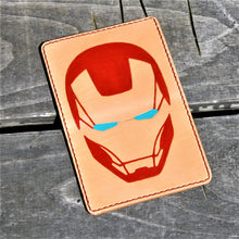 JP Leathercraft RAEDA Leather Wallet IRON MAN