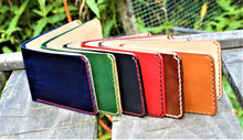Handmade Leather Bi-Fold Wallet Wickett & Craig