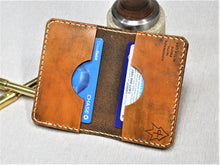 Handmade Leather Wallet RAEDA Vegetable Tan The Mandalorian This Is The Way