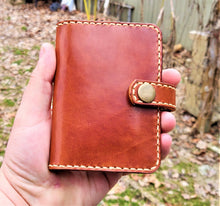 JP Leathercraft RAEDA Leather Wallet Wickett and Craig Buck Brown