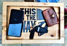 The Mandalorian This Is The Way Valet Tray Dump Cellphone Keys Cady Baltic Birch Natural