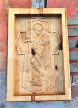 Archangel Gabriel Valet 3D carve Wood Catchall Tray Dump Cellphone Keys Cady Baltic Birch Natural
