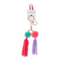 Mexicana Pom Pom Bag Charm Bright