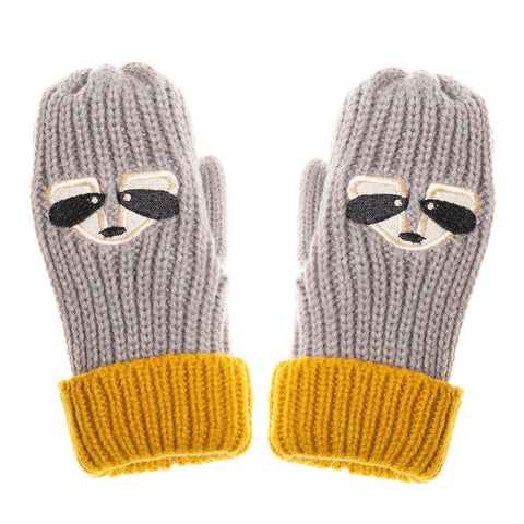 Ronnie Racoon Mittens