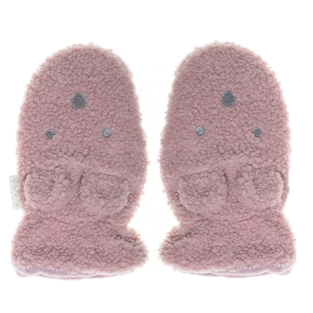Boucle Billie Bear Mittens Heather