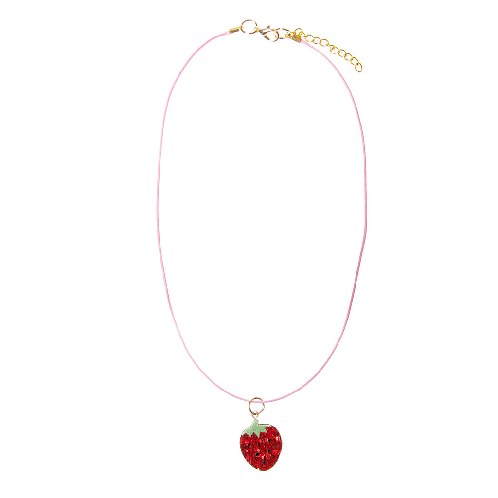 Sweet Strawberry Necklace