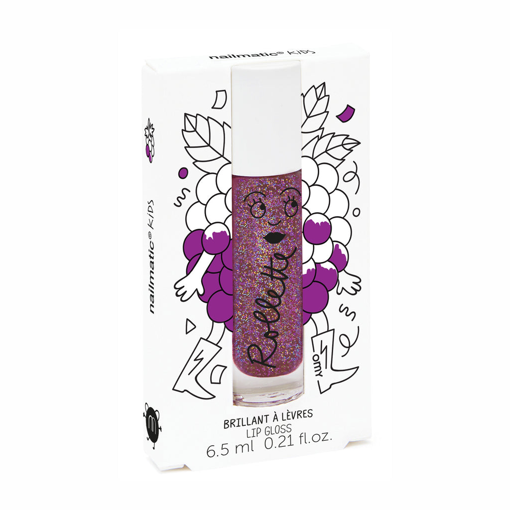 Rollette Kids Lip Gloss - Blackberry