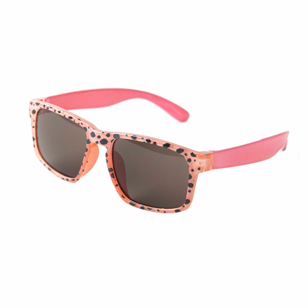 Cheetah Sunglasses Coral
