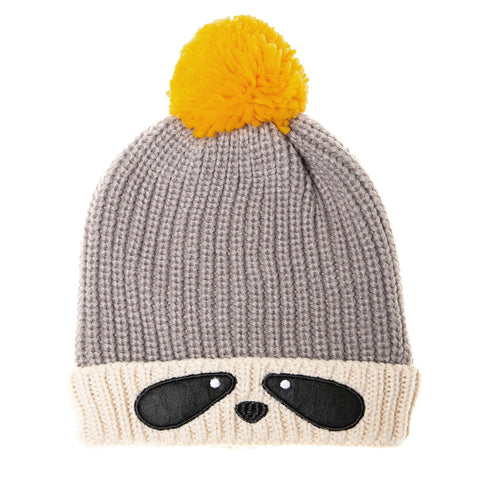 Ronnie Racoon Bobble Hat