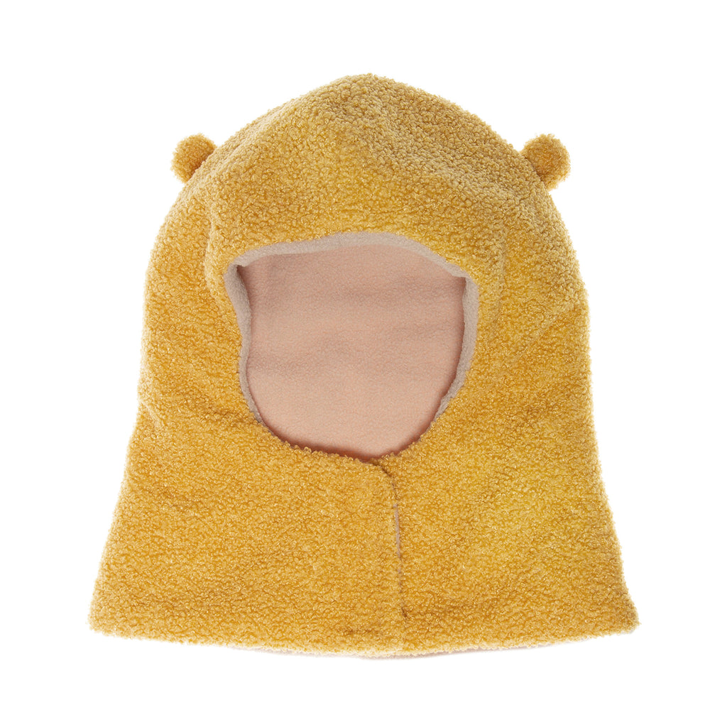 Billie Bear Boucle Snood Ochre