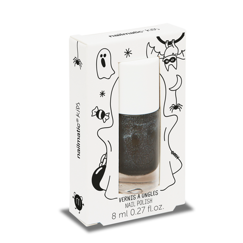 Nailmatic Kids Nail Polish - Casper Black Glitter