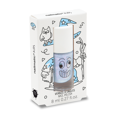 Nailmatic Kids Nail Polish - Merlin Pearly Blue