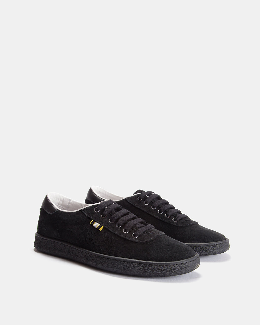 APR002 - Suede - Black/Black