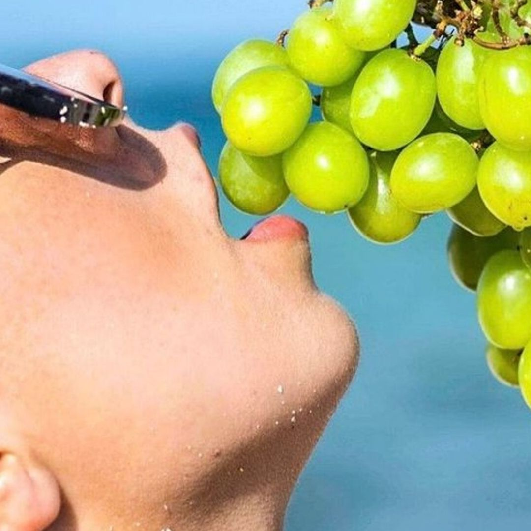 What's on my head?: Grape Seed.