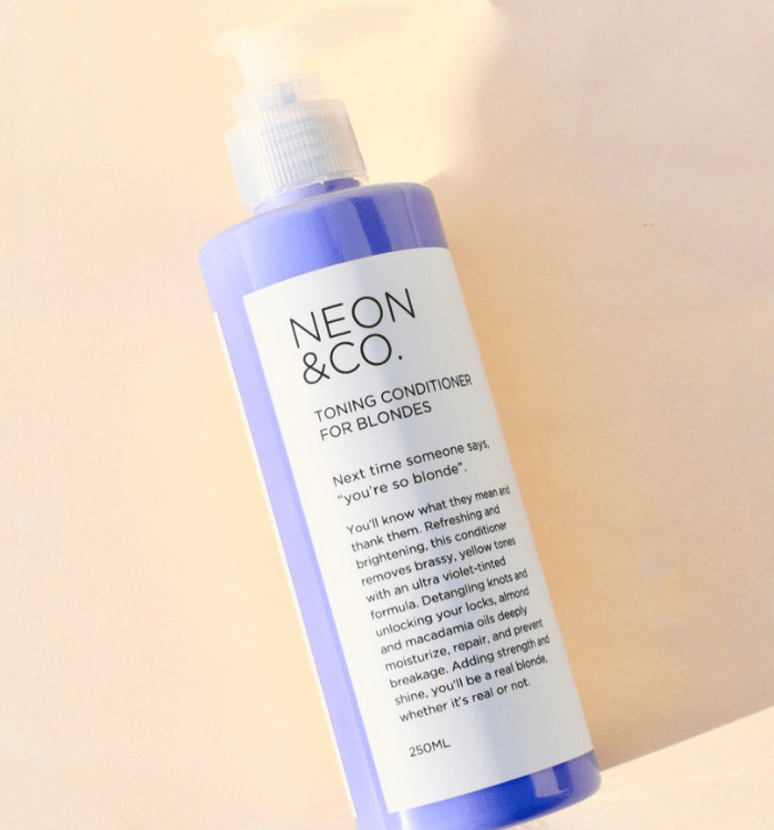Neon & Co. Purple Toning Conditioner For Blondes