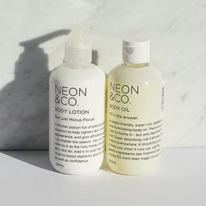 Neon & Co. Hydrate and Illuminate Body Kit