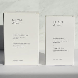 Neon & Co. Body and Shine Hair Kit (2 x 250ml and 2 x 125ml)