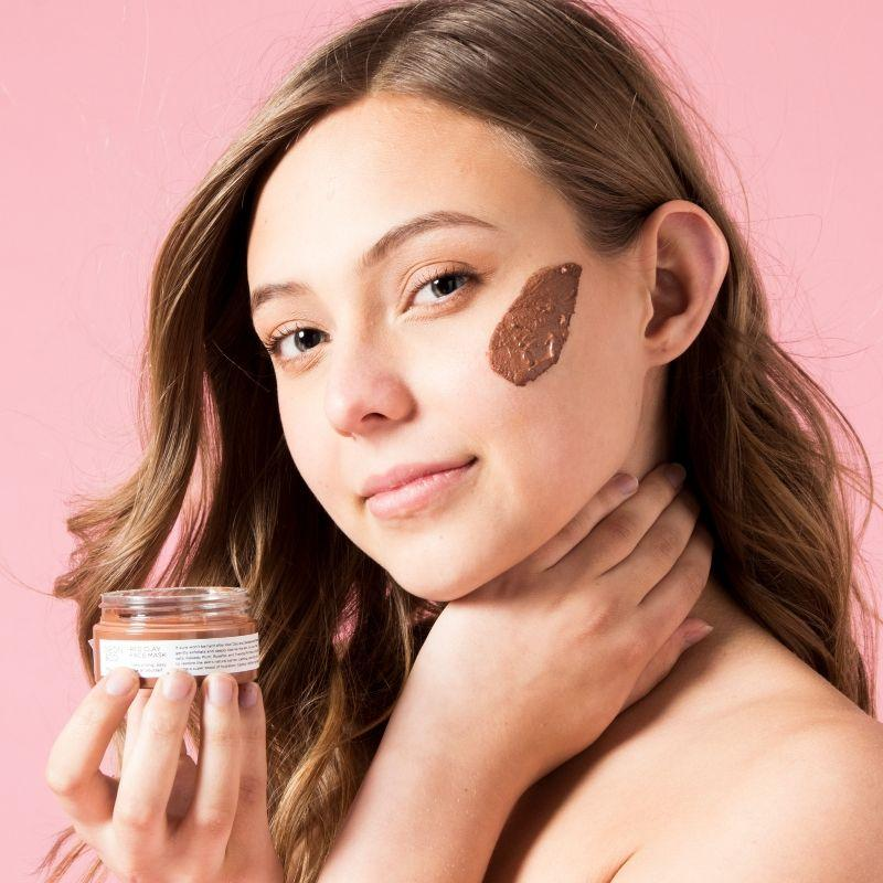Australian Red Clay Mask