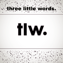 three little words gift card