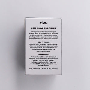 'Time is precious' Hair Shot Ampoules (Box of 4)