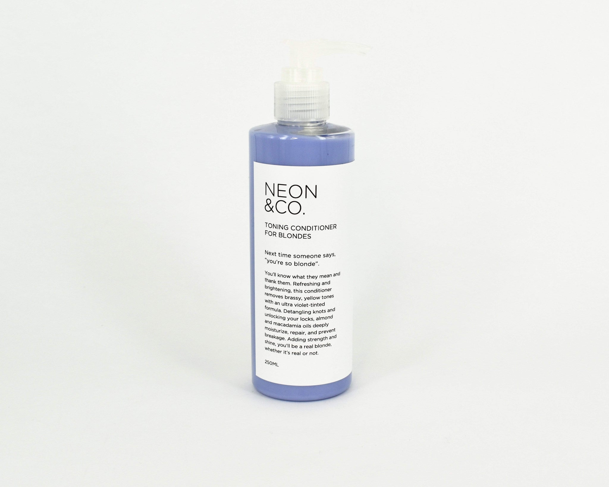Limited time or until stock runs out! Sale  Purple Toning Conditioner for Blondes