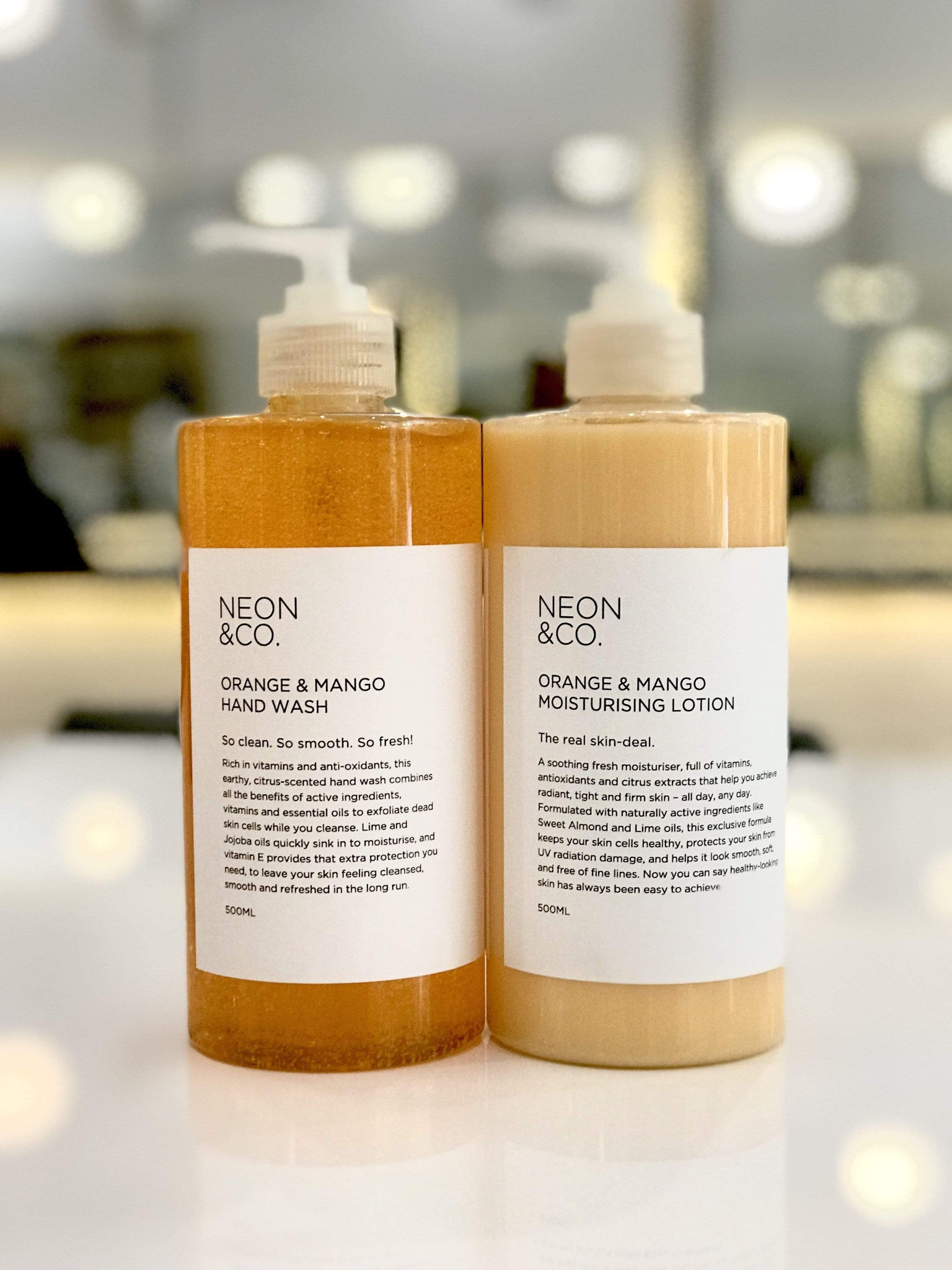 Neon Fresh 🍉 Mango & Orange Hand Wash (500ml)