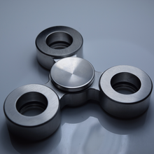 Antzy Top-Stainless Steel Fidget Spinner for stress, focus, and anxiety