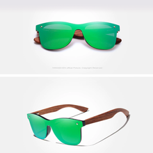 Drifters - Bamboo Cut Polarized Shades