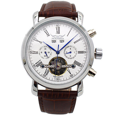 The JARAGAR Full Calendar Tourbillon Automatic Watch