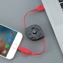 Retractable USB Charger (Iphone/Android)
