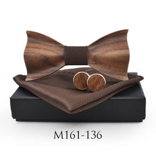 Premium Crafted Wooden Bow Tie