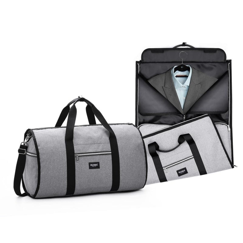 Waterproof Travel Bag Mens Garment Bags Women Travel Shoulder Bag 2 In 1 Large Luggage Duffel Totes Carry On Leisure Hand Bag TY