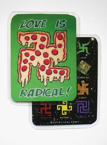 Travel Print - Radical Pizza