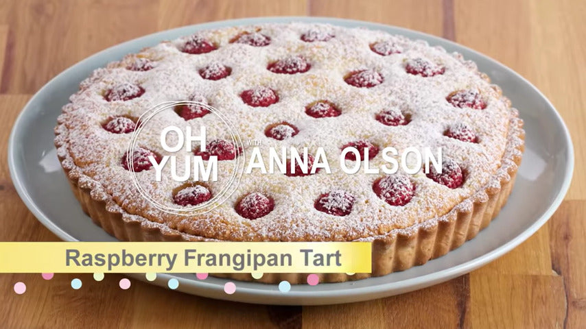 Raspberry Tart, Baked by Anna Olson!