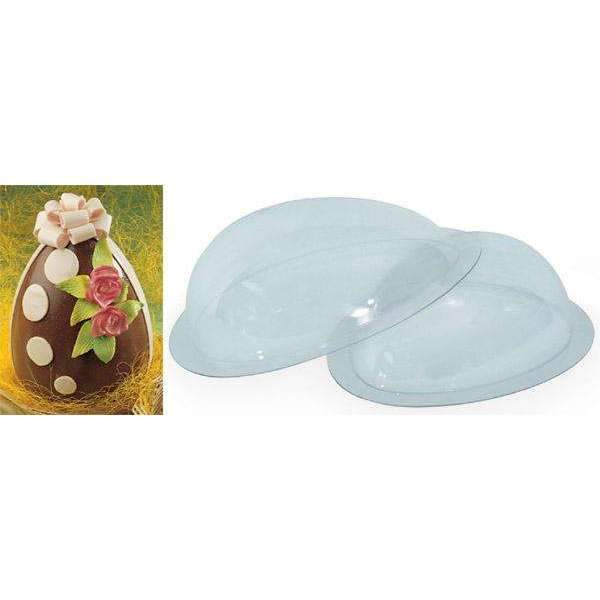 "11"" Egg Shape Chocolate Mould"