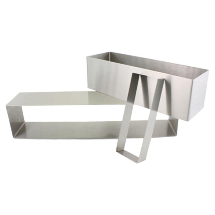 "2.75"" High Stainless Steel Rectangle Molds"