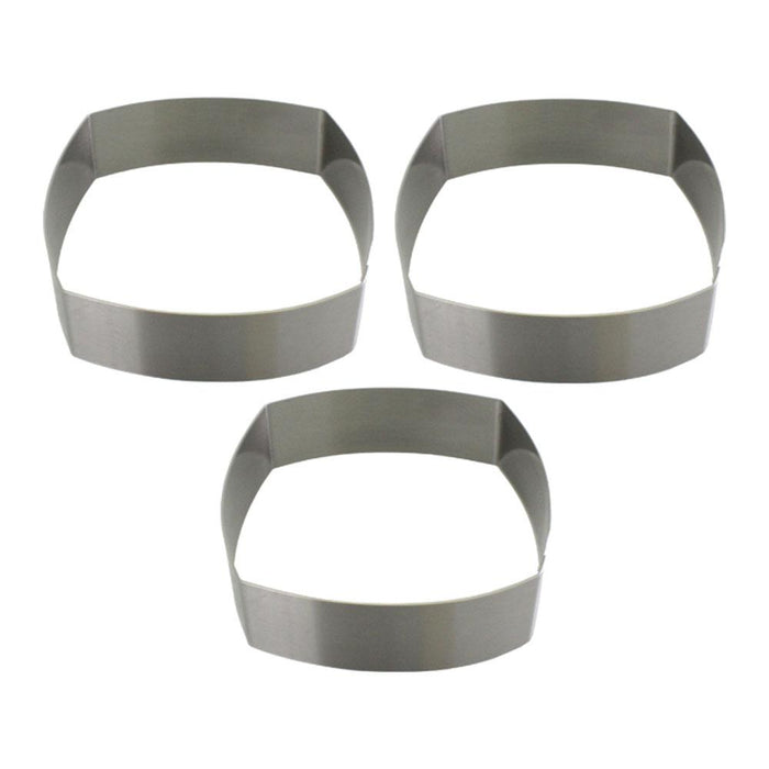 Square Round Mousses & Entremets Moulds