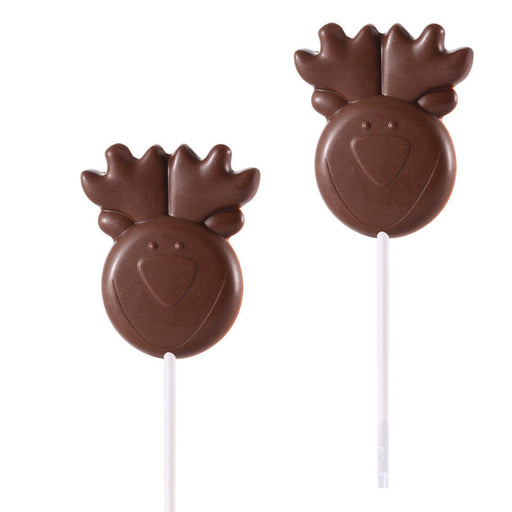 Reindeer Head Lollipop Mould