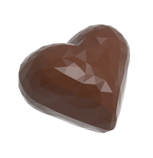 Diamond Heart Chocolate Mould