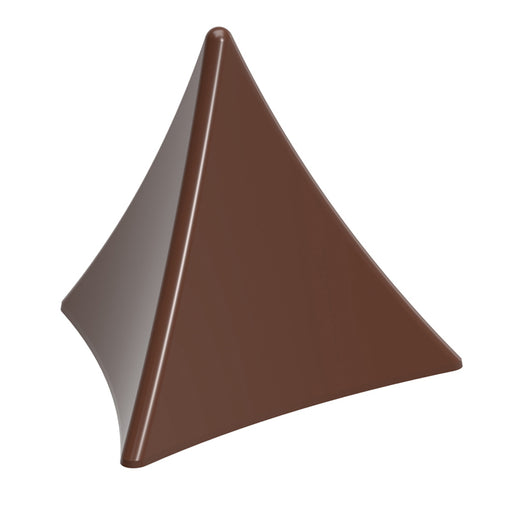 Curved Pyramid Chocolate Mould