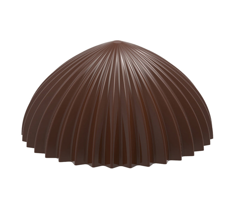 Striped Hollow Top Chocolate Mould