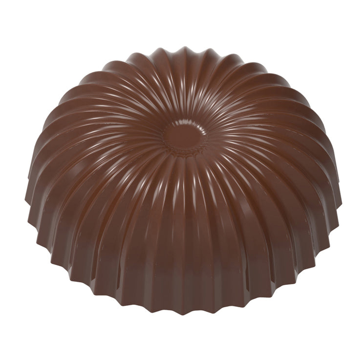 Pleated Half-Sphere Chocolate Mould