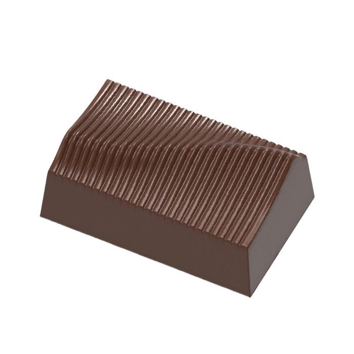 Textured Rectangle Chocolate Mould