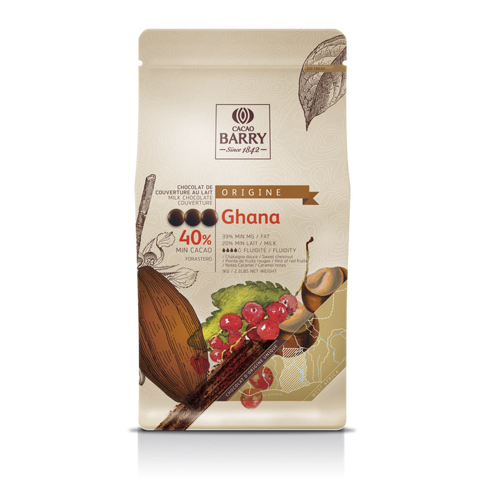 "Milk Chocolate Couverture Origin ""Ghana"""