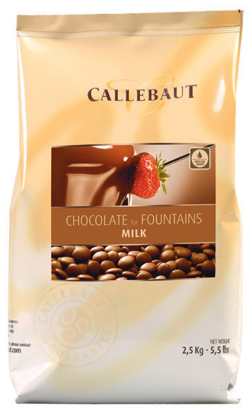 Callebaut Milk Chocolate for fountains