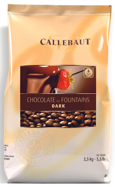 Callebaut Dark Chocolate for fountains