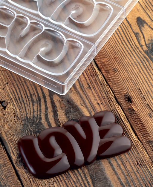 Moule à chocolat Love Bar 100g