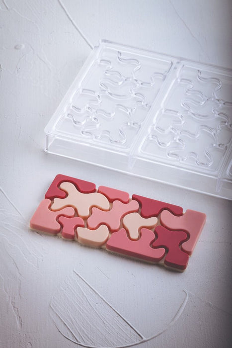 100g Camouflage Bar Chocolate Mold
